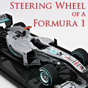 Formula 1 Steering Wheels
