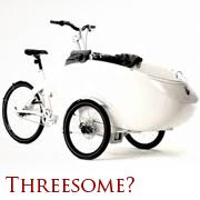 3人乗り自転車!?